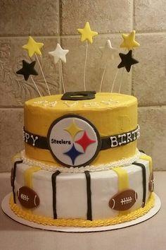 Pittsburg Steelers Cake Cakes Pinterest Cake Birthday cakes