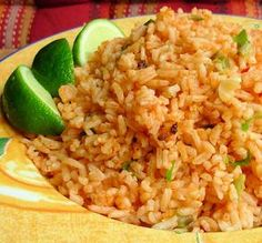 "Mexican Rice: ""I have never in my born days had such tempting, tantalizing and tremendous tasting rice! You MUST wash the rice. It absolutely does make a difference."" -Andi of Longmeadow Farm"