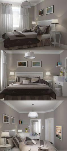 Small bedroom.