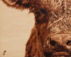 Burn Wood, Baby, Burn. The Incredible Pyrographic Art of Julie Bender. Insane...