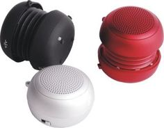 Hamburger speaker for iPods or MP3