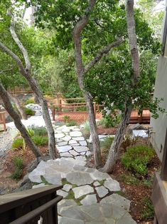 Storybook Spring Garden and Second Chances Garden Hoe, Garden Oasis, Garden Edging, Terrace Garden, Garden Spaces, Lawn And Garden, Garden Path, Recycled Concrete, Broken Concrete