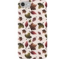 Sparkly leaves fall autumn sparkles pattern iPhone 6 7 8 Case/Skin by #PLdesign #sparkles #colorful #sparklesgift #redbubble