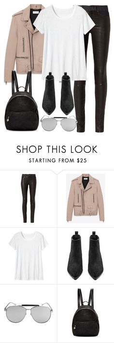 """Untitled #2862"" by elenaday ❤ liked on Polyvore featuring rag & bone, Yves Saint Laurent, Toast, Acne Studios and STELLA McCARTNEY"
