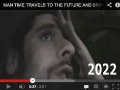 MAN TIME TRAVELS TO THE FUTURE AND BRINGS BACK EVIDENCE! *REAL FOOTAGE* - WHITE HOUSE  AJ2022. YouTube