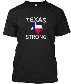 I Love Houston Texas Tshirt  Black T-Shirt Front