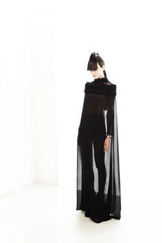 Young Dutch designer Jantine van Peski from the showcase High Fashion, Low Countries.
