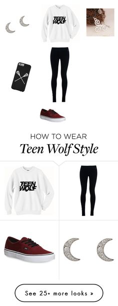 """""""Teen Wolf in 4 Days!!!"""" by julialuvst on Polyvore featuring NIKE, Finn and Vans"""
