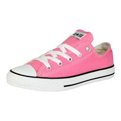 Converse - Girls' CT All Star Classic Low Canvas Sneaker (Big Kid) - Pink