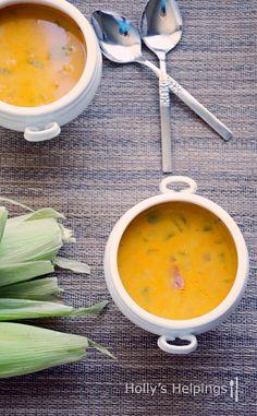 Smoky Corn Soup