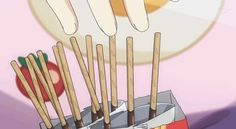 She's like wolverine but with pocky.