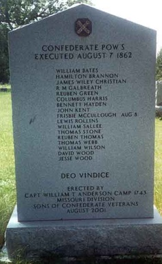 August The day after the Battle of Kirksville, the Federal colonel John…On my birthday Confederate Statues, Confederate Monuments, Confederate States Of America, Confederate Flag, American Civil War, American History, Southern Heritage, Southern Pride, David Wood