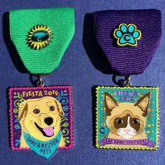 2017 Dog Fiesta Medal San Antonio Bull Terrier Amstaff Bully The Cannoli Fund