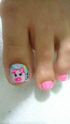Cute Nails, Nail Designs, Nail Art, Pedicures, Roxy, Sour Cream, Brunette Girl, Toenails Painted, Pretty Toe Nails