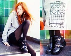 Wonderland (by Ebba Zingmark) http://lookbook.nu/look/3318395-Wonderland