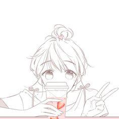 Manga Girl, Manga Anime, Mind Map Art, Comics Love, Anime Base, Handsome Anime Guys, Avatar Couple, Anime People, Anime Angel