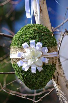 dekoracje wielkanocne - Google keresés: Egg Crafts, Easter Crafts, Diy And Crafts, Arts And Crafts, Egg Decorating, Easter Eggs, Decoupage, Dandelion, Projects To Try