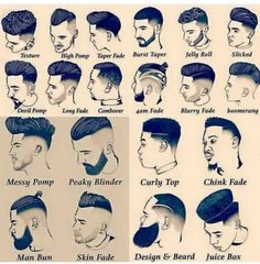 Tag your friend . Mens Hairstyles With Beard, Cool Hairstyles For Men, Hair And Beard Styles, Hairstyles Haircuts, Haircuts For Men, Short Hair Styles, Barber Haircuts, Barber Tips, Gents Hair Style