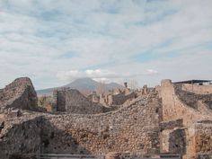 Pompeii, City of Ashes #pompeii #pompei #italy #europe #travel #volcano #vesuvio #itchyfeet #wanderlust