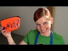 Täschchen aus Schwimmflügel - YouTube