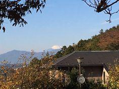 #ingress でウロウロしてた時に偶然見つけた富士山が綺麗に見えるスポット。もしかしたら夕日が富士山に落ちる時期が有るのかもしれない。