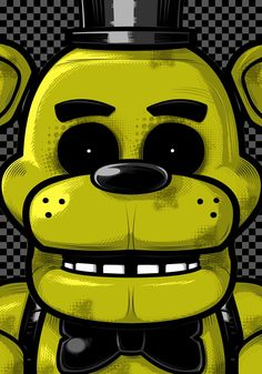 (*** http://BubbleCraze.org - If you like bubble games for Android/iPhone, you'll LOVE this one. ***)  FNAF 1 Golden Freddy fun art