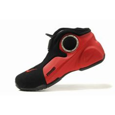 Nike Air Flightposite II KG Zoom Red Black B01021