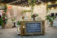 Bridal Show Florist Booth More