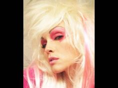 Jem make-up tuturiol - just need the dress and I can be truly outrageous for Halloween this year!