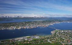 Panoramica su #Tromso in #Norvegia