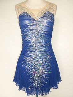 New Ice Skating Twirling Baton Dress Adult S   eBay
