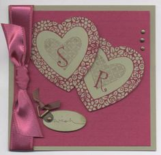 Pomegranate Wedding by Terra5 - Cards and Paper Crafts at Splitcoaststampers