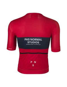 Solitude Jersey Red - Pas Normal Studios