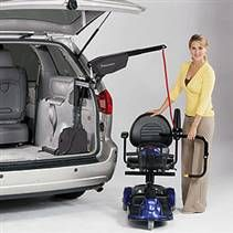 Bruno Curb-Sider Wheelchair Lift Model VSL-6000 and VSL-6900 | Van Mobility Aids | AMS Vans