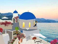 Island, Santorini Greece Architecture Bell Tower B #island, #santorini, #greece, #architecture, #bell, #tower, #b