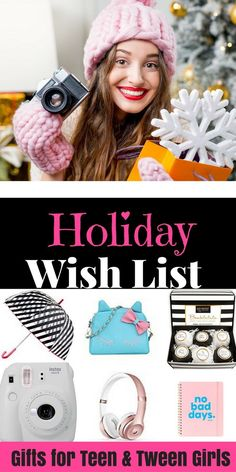 ULTIMATE GIFT GUIDE for TWEEN & TEENAGE GIRLS-Are you looking for cool & unique gifts for tweens and teenage girls for Christmas? Maybe you're looking for awesome stocking stuffers for girls? I asked my daughters, ages 16 & 9 (and their friends) & came up with a list of 50 fun & inexpensive gift ideas for girls for birthdays & holidays! Don't miss the two video reviews by my daughters!