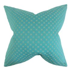 The perfect focal point for your mid-century modern-inspired living room or contemporary bedroom, this plush cushion features a textured geometric print.   ...
