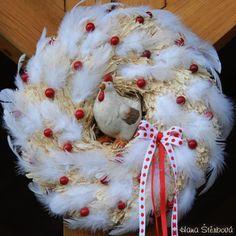 Velikonoční inspirace Tulle Wreath, Christmas Wreaths, Christmas Ornaments, Spring Has Sprung, Summer Wreath, Holiday Decor, Cheesecake, Happy, Eggs
