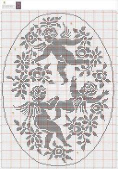 Angioletti a filet / Crochet filet angels