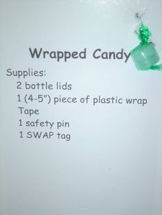 Wrapped candy swap -   Yup, I made that!: Girl Scout Swap A Rama