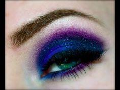 ▶ Midnight Blues Smokey Eye Inspired by GlitterGirlC - YouTube