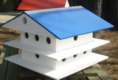 DIY Purple Martin Birdhouse Plans - Free DIY Furniture Plans