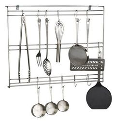 Utensil Rack to help keep the kitchen organized!