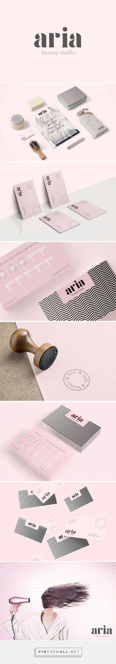 Aria Beauty Salon Branding by Puro Diseno | Fivestar Branding – Design and Branding Agency & Inspiration Gallery | #BrandingInspiration