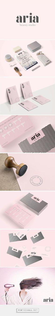 Aria Beauty Salon Branding by Puro Diseno | Fivestar Branding – Design and Branding Agency & Inspiration Gallery | #BrandingInspiration