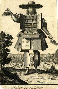 Nicolas de Larmessin. 17 век.Гротескные костюмы. - Интересное и забытое - быт и курьезы прошлых эпох.