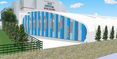 Karşıyaka'nın ilk kapalı yüzme havuzu 1912 Zühtü Işıl Spor Salonu'na yapılacak
