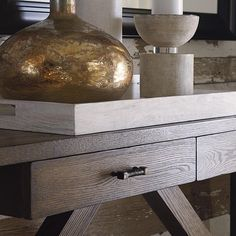 Compass Console Table by Bassett Furniture