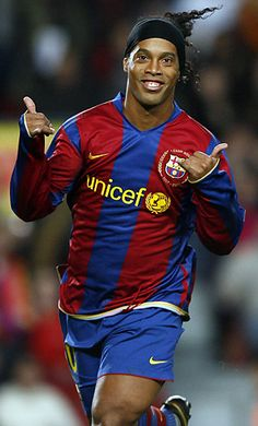 Ronaldinho - great footwork, great soccer player