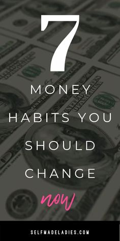 [cs_content_seo] 7 Bad Money Habits You Need To Stop Right Now By Mia FoxAuthor, Money Mindset & Manifestation Coach Are you always struggling to make both ends meet before the next paycheck arriv Money Affirmations, Positive Affirmations, Morning Affirmations, Quotes Positive, Leadership, Law Of Attraction Tips, Attraction Quotes, 5am Club, Money Makeover